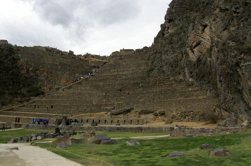 Ollantaytambo - Inca ruins - overview