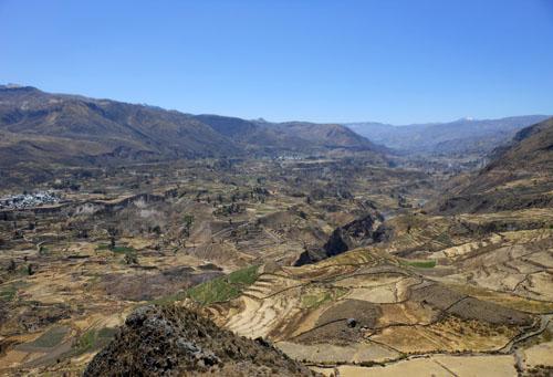 Peru, Colca Canyon Tour - picturesque landscape view