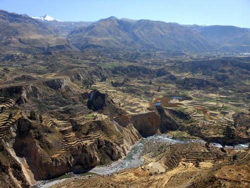 Peru, Colca Canyon Tour - the Colca Valley
