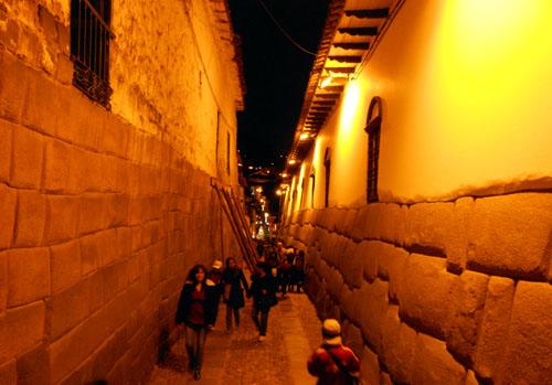 Peru, Cuzco - famous Inca wall