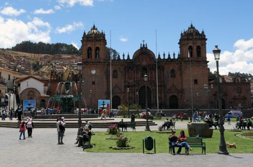 Peru, Cuzco - Plaza de Armas