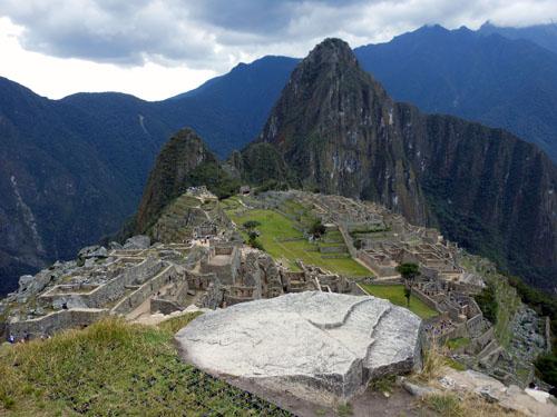 Peru, Machu Picchu Archaeological Site - overview