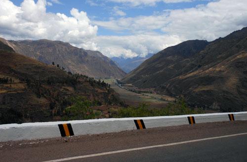 Peru, Pisac - landscape views on the way
