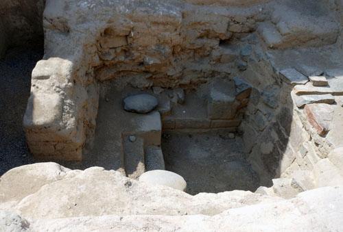 Peru, Tambo Colorado Archaeological Inca Site - baths