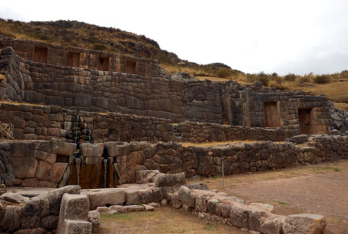 Peru, Tambo Machay Archaeological Site
