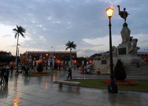 Peru, Trujillo - main square
