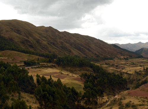 Puka Pukara - Inca ruins - landscape views