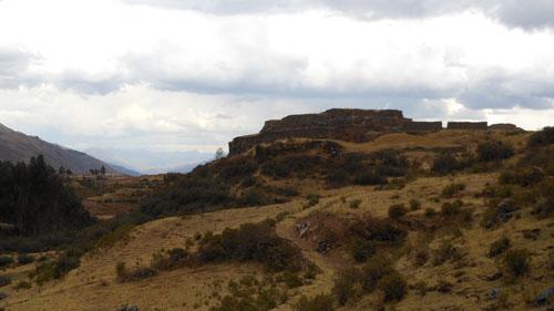 Puka Pukara - Inca ruins - overview