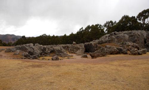 Q'enqo - Inca ruins - overview