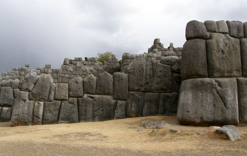 Sacsayhuaman - Inca ruins - the walls close up