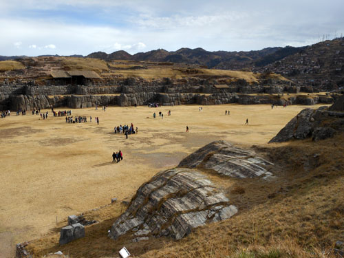 Sacsayhuaman - Inca ruins - main plaza
