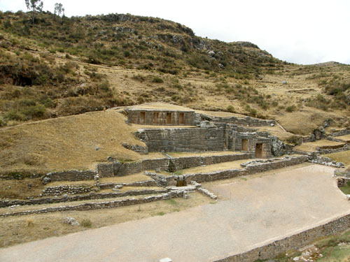 Tambo Machay - Inca ruins