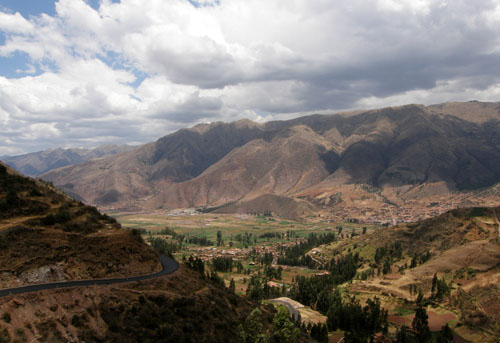 Tipon - Inca ruins - landscape views