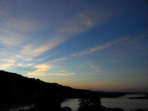 Bolivia, Rurrenabaque - sunset