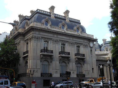 Buenos Aires, San Martin - beautiful building of Palacio San Martin