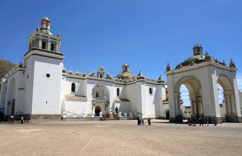 Copacabana - the basilica