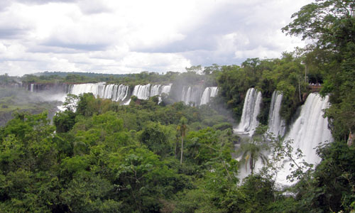 Iguazu (Argentina) - panoramic views of the waterfalls