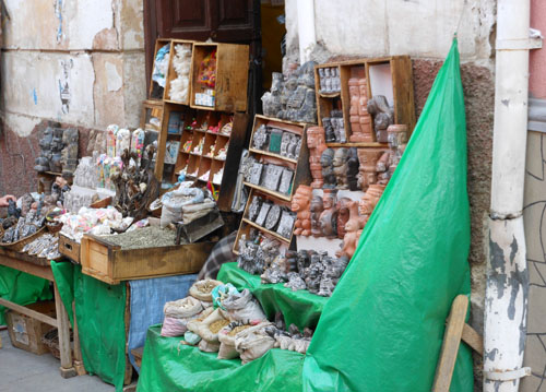 La Paz - witch craft market