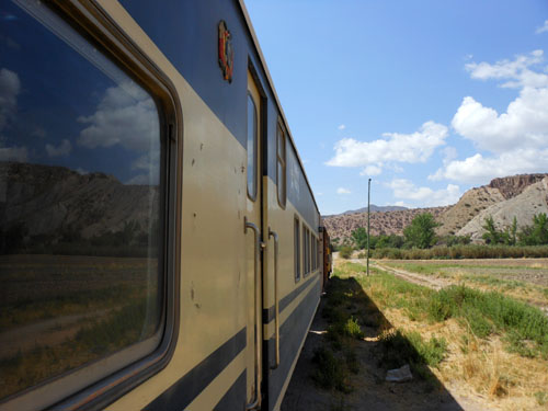 Oruro to Villazon train