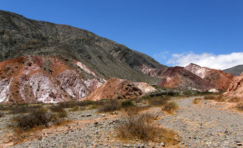 Quebrada de Purmamarca - beautiful colours of the Mountain of Seven Colours