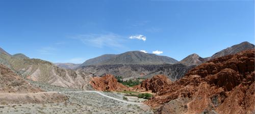 Quebrada de Purmamarca - panorama