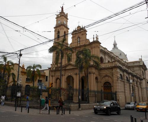 San Salvador de Jujuy - basilica San Francisco