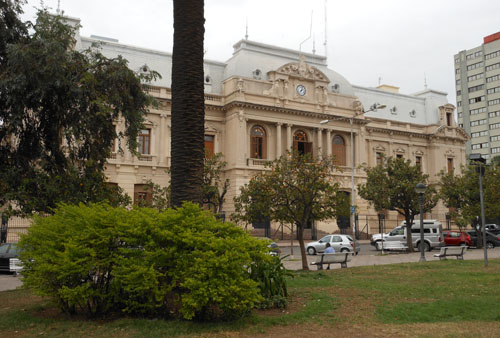 San Salvador de Jujuy - Federal Police building on plaza Belgrano
