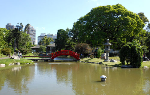 Argentina, Buenos Aires, Palermo - north part of the Japanese garden