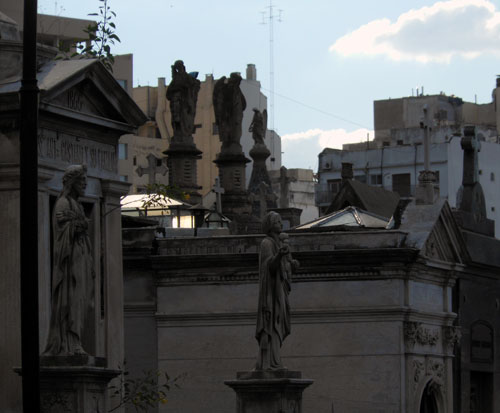 Argentina, Buenos Aires, Recoleta Cemetery - angels