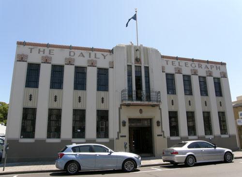Hawke's Bay Napier Daily Telegraph building