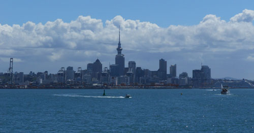 New Zealand, North Island - Auckland Central Business District CBD