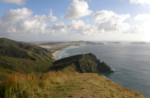 New Zealand, North Island - Cape Reinga, 90 mile long beach