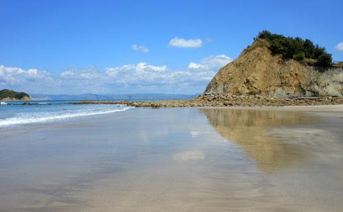 New Zealand, North Island - Gisborne, Sponge Bay