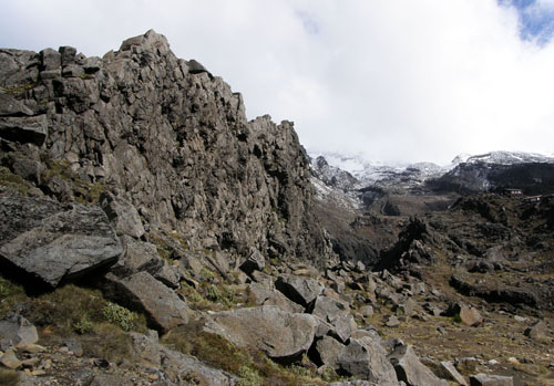 New Zealand, North Island - Mount Ruapehu Lord of the Rings Mordor movie location
