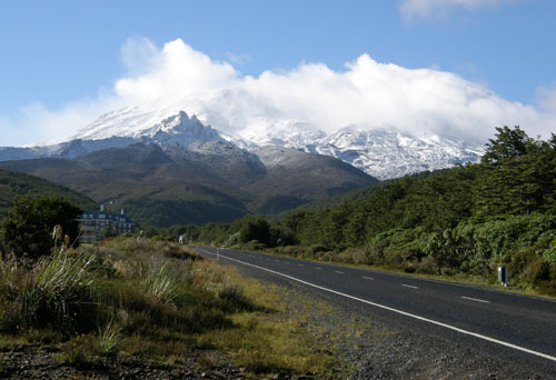 New Zealand, North Island - Mount Ruapehu