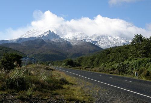 New Zealand, North Island - Mount Ruapehu