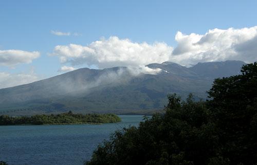 New Zealand, North Island - Mount Tongariro volcanic activity