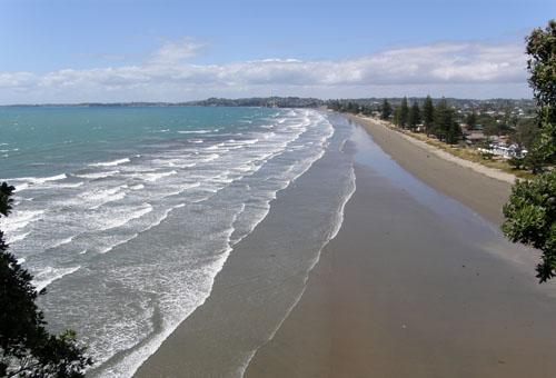 New Zealand, North Island - Orewa Beach