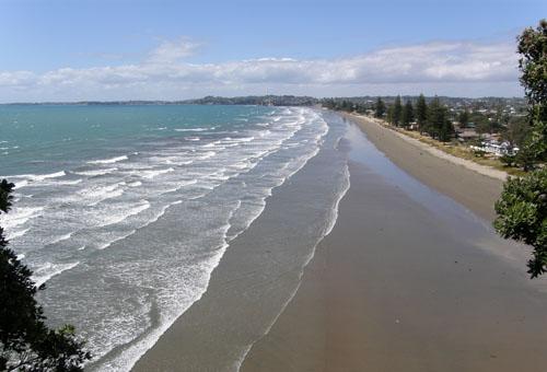 New Zealand, North Island - Orewa Beach