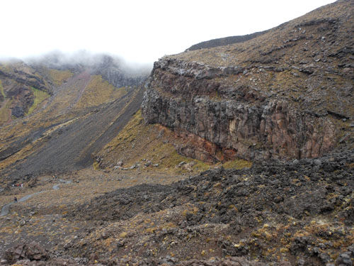 New Zealand, North Island - Tongariro National Park, volcanic scenery