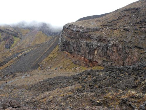 New Zealand, North Island - Tongariro National Park, volcanic scenery