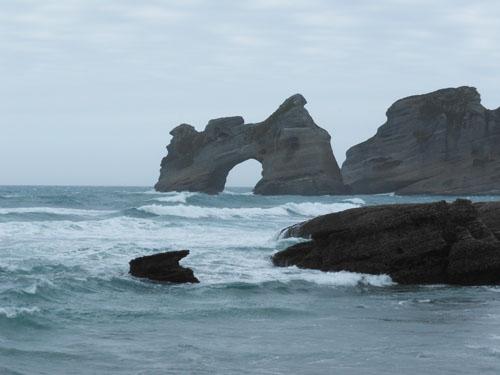 New Zealand, South Island - Abel Tasman, Wharariki Beach