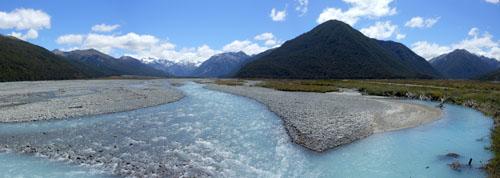 New Zealand, South Island - Arthur's Pass to Lake Pearson