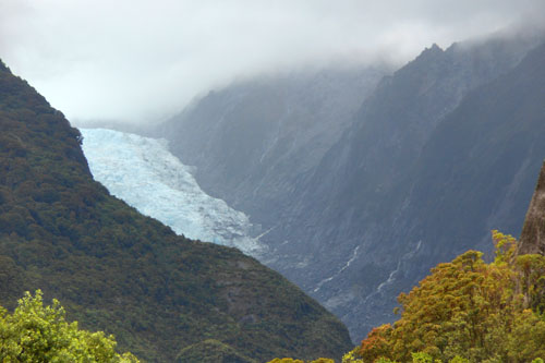 New Zealand, South Island - Franz Josef glacier