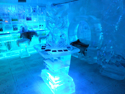 New Zealand, South Island - Ice Bar in Queenstown