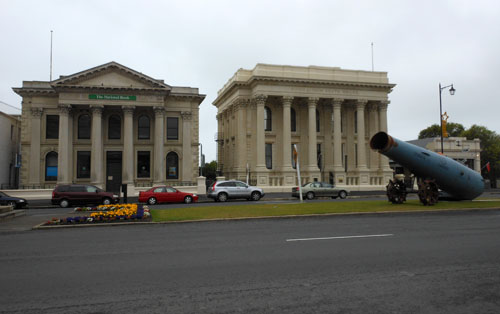 New Zealand, South Island - victorian buildings in Oamaru