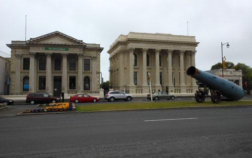 New Zealand, South Island - victorian buildings in Oamaru