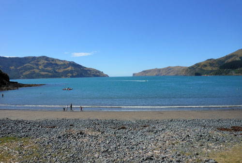 New Zealand, South Island - Wainui, the bay
