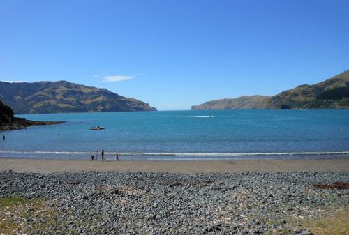 New Zealand, South Island - Wainui, the bay