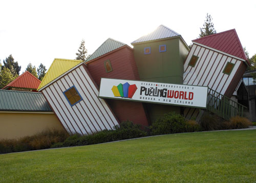 New Zealand, South Island - Wanaka, The Puzzling World